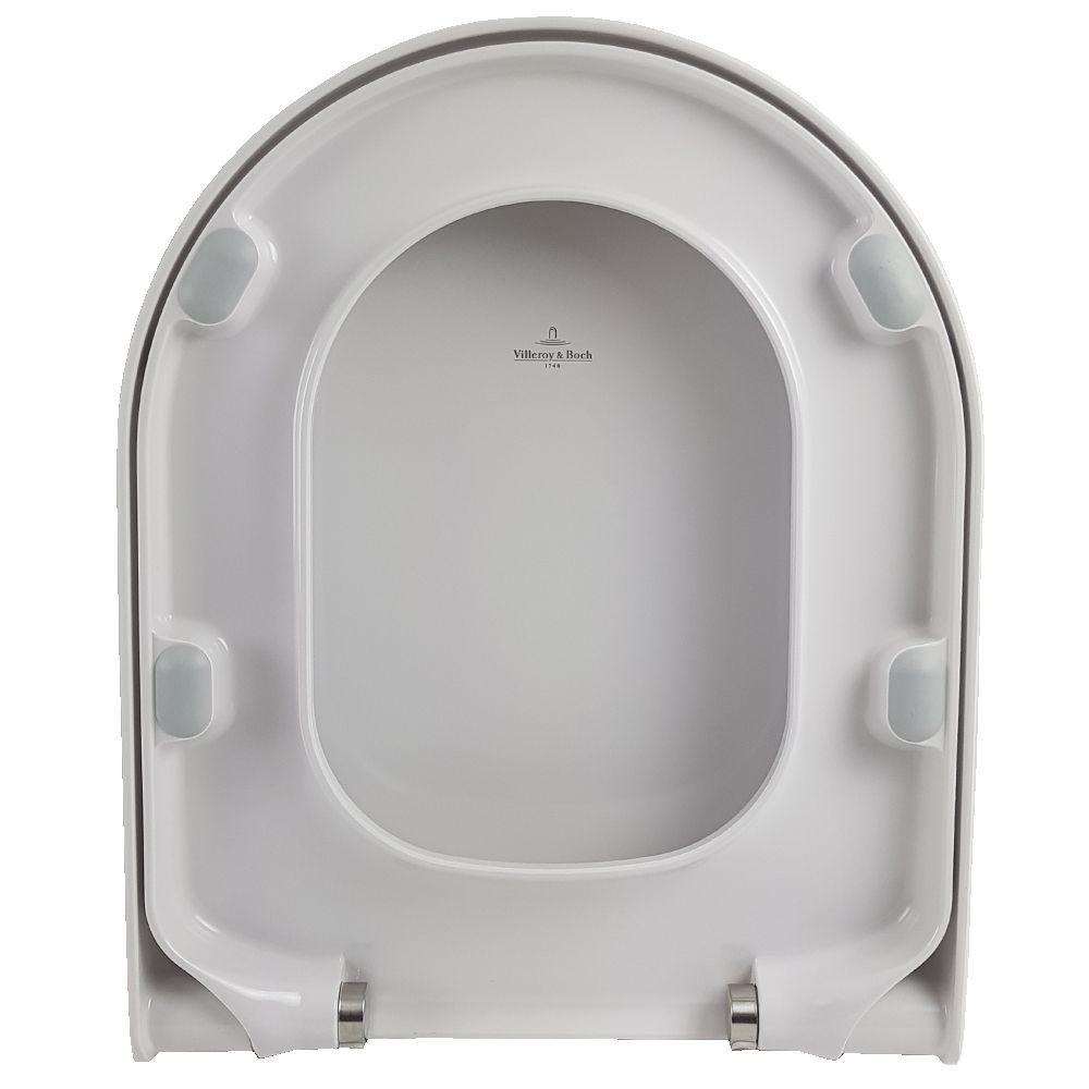 Villeroy Amp Boch Subway Soft Close Toilet Seat Alpine White